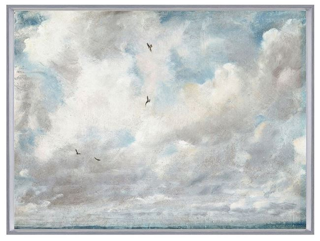 Picture of Constables - Sea & Sky  - Framed Canvas