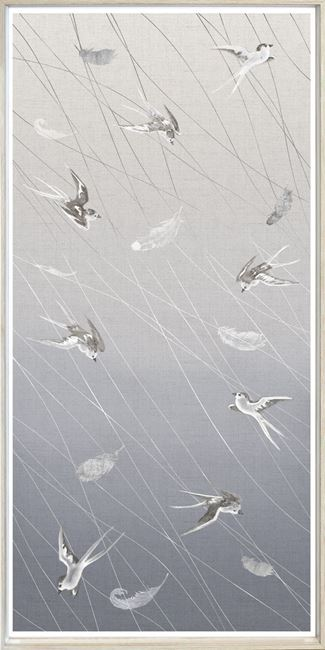 Picture of Swallows At Play Panel II