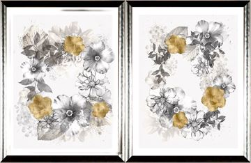 Picture of Floral Wreath Overlay S/2