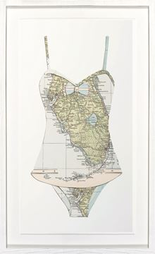 Picture of Florida - Swim Cutout I