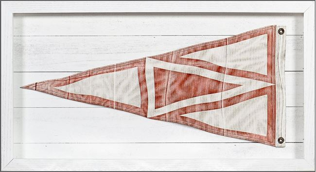 Picture of Yachting Burgee - Red Triangle