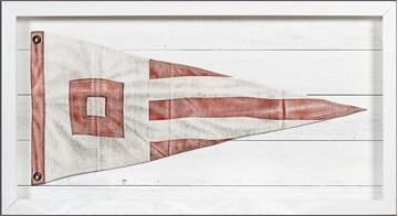 Picture of Yachting Burgee - Red Square