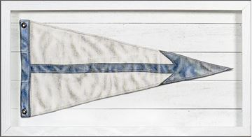 Picture of Yachting Burgee - Blue Arrow