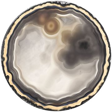 Picture of Acrylic - Neutral Agate Round I