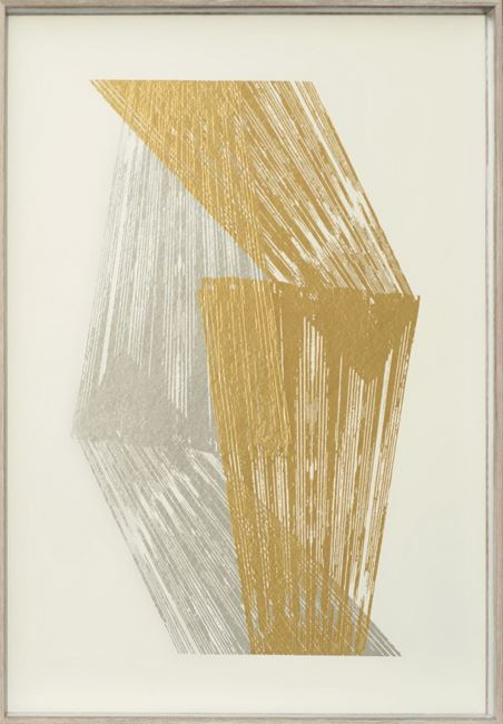 Picture of Stripes - Gold & Silver