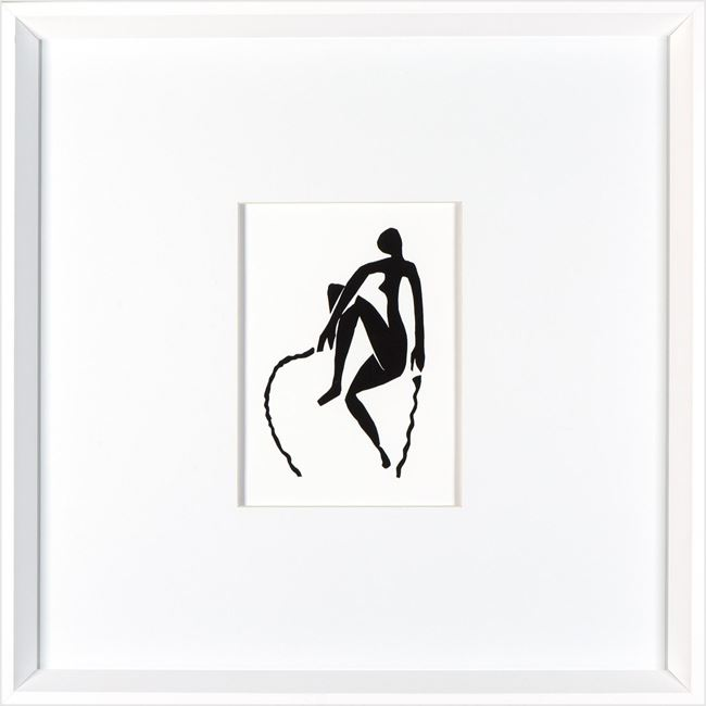 Picture of Matisse - Cut Out - White