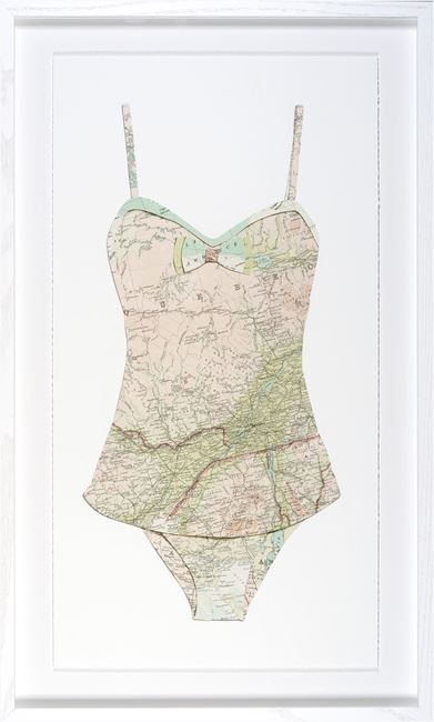 Picture of Swim Cutouts-Blush I