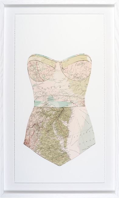 Picture of Swim Cutouts-Blush II