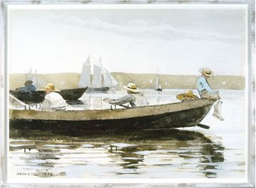 Picture of Homer-Boys In A Dory