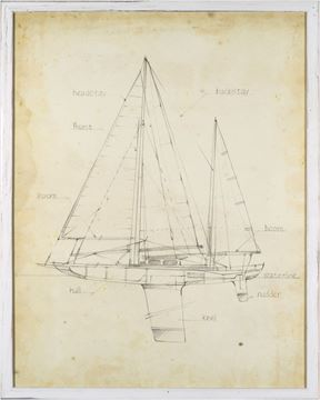 Picture of Sailboat Blueprint IV