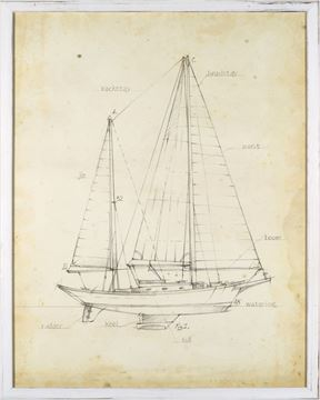 Picture of Sailboat Blueprint VI