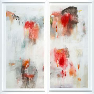 Picture of Tip Toe Diptych