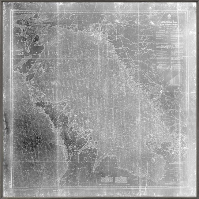 Picture of Georgian Bay Nautical Chart - Grey