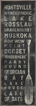 Picture of Muskoka - Locale Sign I