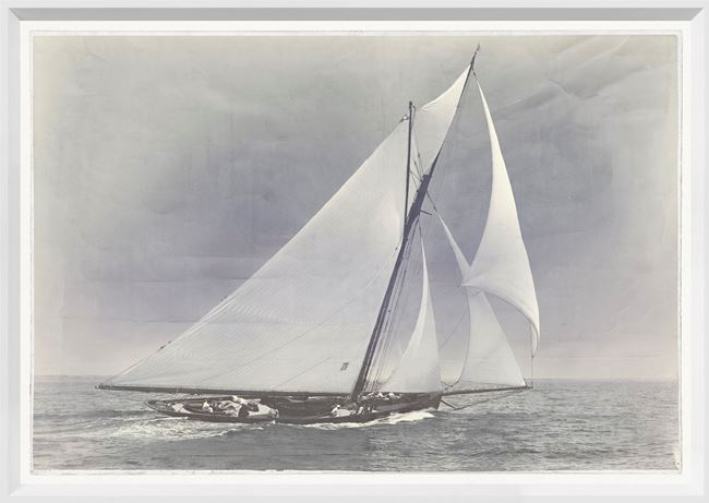 Picture of Indigo Stained - Yacht Huron - Small