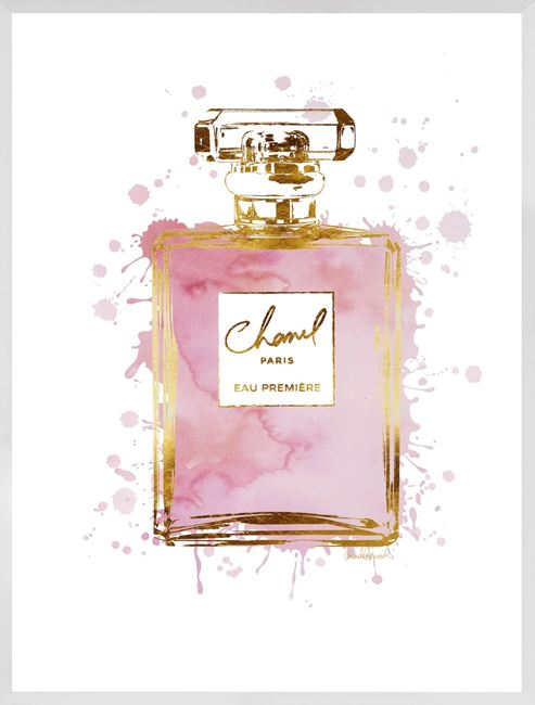Picture of Perfume Bottle Dusty Rose II - Large