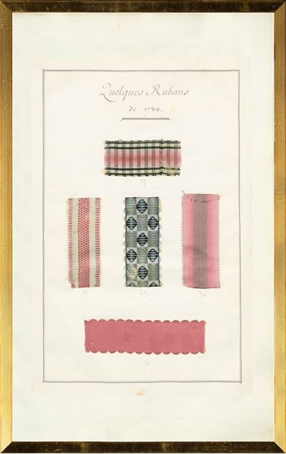 Picture of French Fabric Samplers IX, 1735