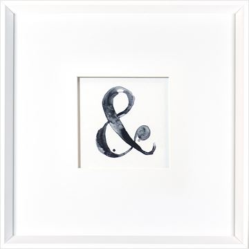 Picture of Ampersand  - White