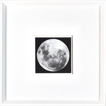 Picture of Full Moon  - White