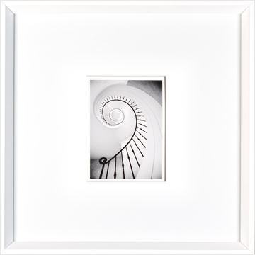 Picture of Spiral  - White