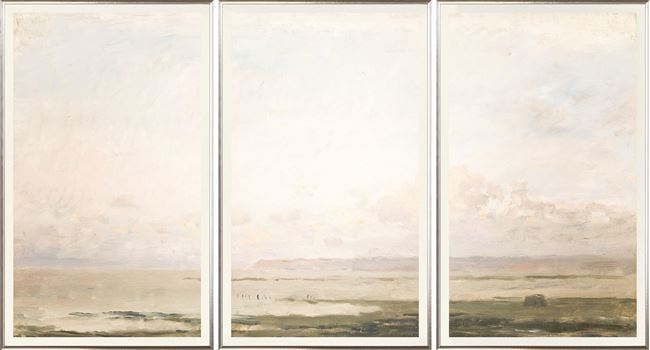 Picture of Beach at Ebb Tide Triptych