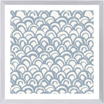 Picture of Motif In Blue IV