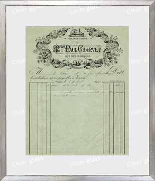 Picture of Collection 10 - French Receipt XI