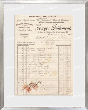 Picture of Collection 10 - French Receipt XIV