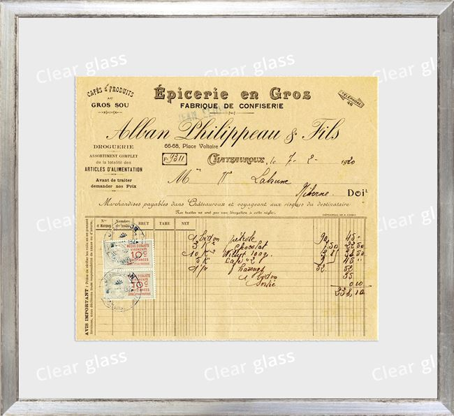 Picture of Collection 10 - French Receipt IX