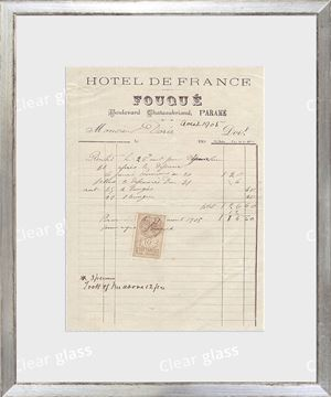 Picture of Collection 10 - French Receipt XVII