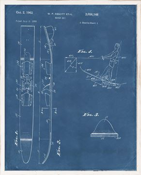 Picture of Patent - Water Ski II