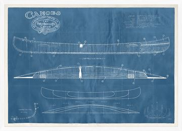 Picture of Peterborough Canoe Patent - Large