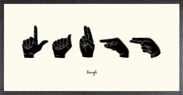 Picture of SIgn Language III - Laugh
