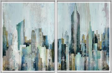 Picture of Skyline Diptych