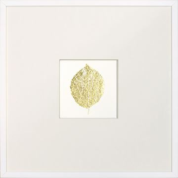 Picture of Gold Foil Leaf V