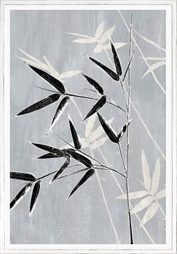 Picture of Botanical Overlay - Grey VIII Large