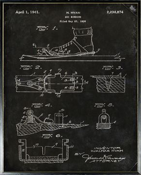 Picture of Patent - Ski Binding Large