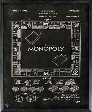 Picture of Patent - Monopoly Small