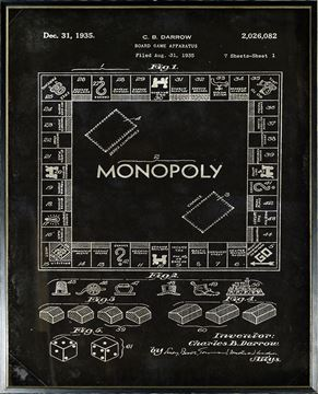 Picture of Patent - Monopoly Large