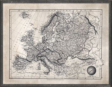 Picture of Map Arrowsmith, Europe 1825