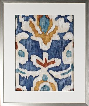 Picture of Ocean Ikat I