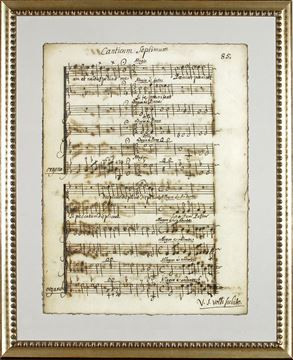 Picture of Latin Sheet Music - Pg 85