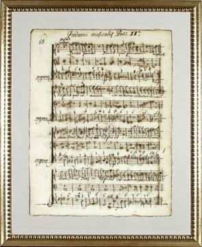 Picture of Latin Sheet Music - Pg 88