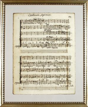 Picture of Latin Sheet Music - Pg 89