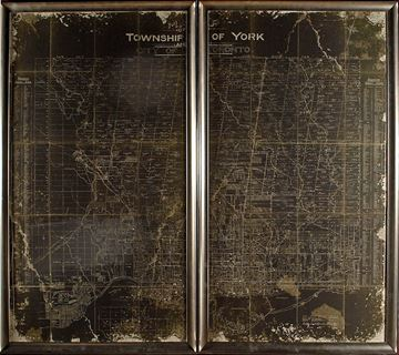 Picture of Map-Township Of York Diptych