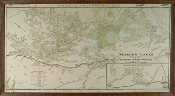 Picture of Map - C.N.R. Muskoka Lakes