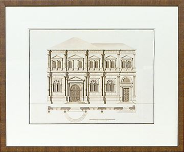 Picture of Italian Elevations 18Th Century I
