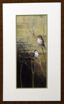 Picture of Sparrows At Dusk II