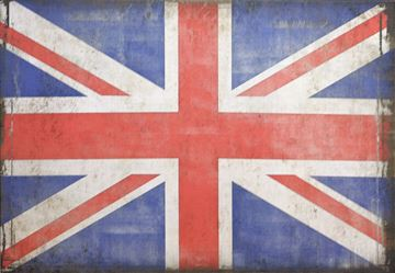 Picture of Flag-British Lge  - Gallery Wrap Canvas