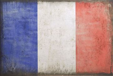 Picture of Flag-France Lge  - Gallery Wrap Canvas